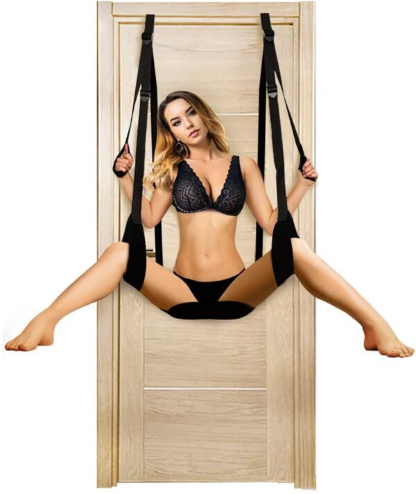 Door Sex Swing for Adult Slings and Swings Restraint Bondage Kit for Couples with Adjustable Straps Toy Play