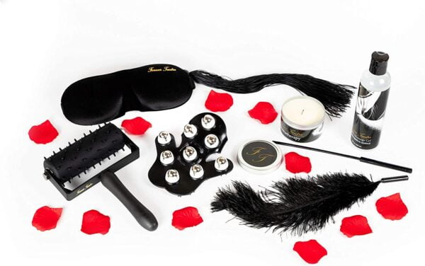 """Forever Tantra Romance Massage Kit - 1 Box with 8 Items. plus, An Access Code to Forever Tantra Massage Music and """"How To"""" Videos."""